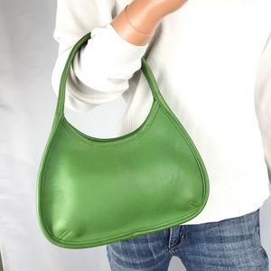 COACH Mini Apple Green Leather Ergo Handbag #9027
